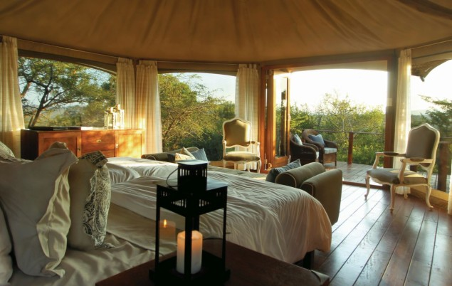 TTC026 - Thanda Tented Camp - Tent Interior 20140507 - CS0_9924 B