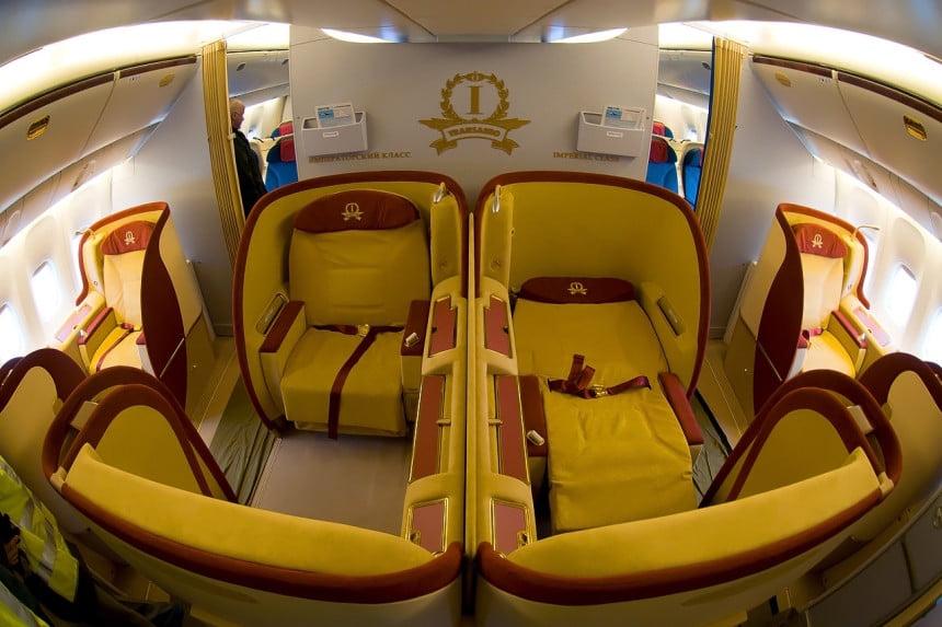 Klasa Imperial w Boeingu Transaero. Fot: Alex Beltyukov/WC/LIC BY_CC_3.0