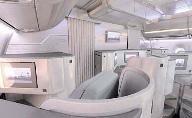 Klasa biznes w nowym samolocie Finnaira