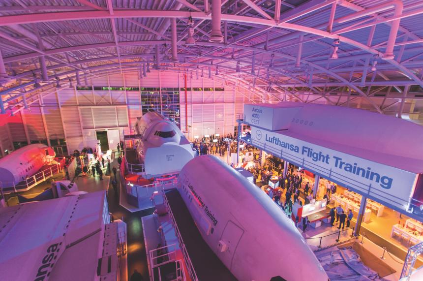 Centrum symulacji lotów Lufthansy we Frankfurcie