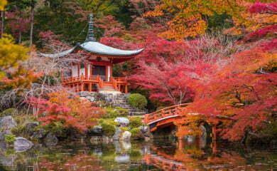 Świątynia Daigoji w Kioto. Fot. Fotolia.com