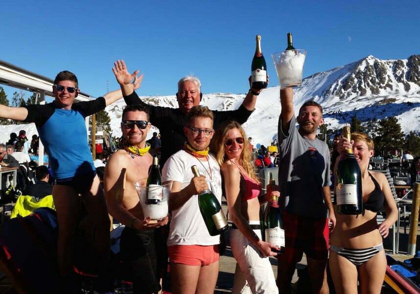 Polskie Dni w Andorze, to oprócz intensywnej jazdy na nartach, przede wszystkim dobra zabawa.