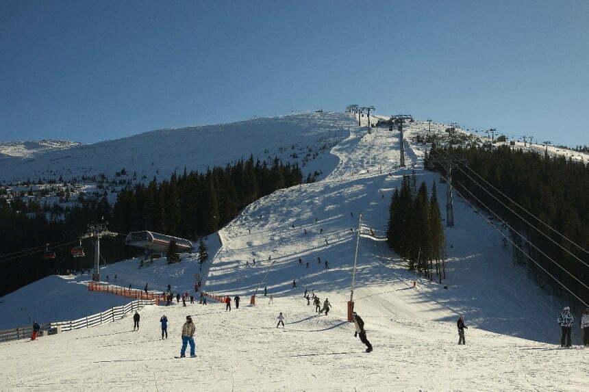 Jasna-Chopok Niskie Tatry, trasa zawodow PS