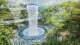 """Jedną z głównych atrakcji kompleksu, którego nazwę (""""jewel"""" to po angielsku 'klejnot') odzwierciedla lśniąca fasetowana elewacja, będzie ogród o powierzchni 22,3 tysiąca mkw., noszący nazwę Forest Valley."""