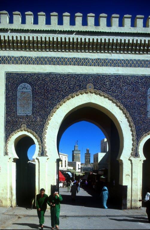 Na zdjęciu marokański Fez