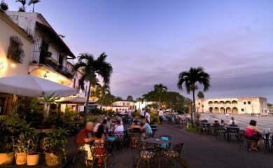 Dzielnica kolonialna w Santo Domingo