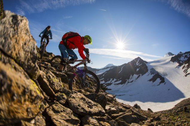 Ötztal, trasa dla rowerów górskich Fot. Ötztal Tourismus