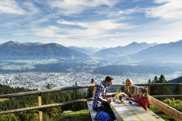 Innsbruck, panorama miasta Fot. Innsbruck Tourismus
