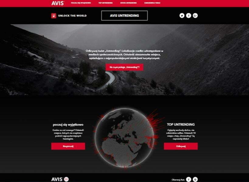 Avis Untrending_website_print screen