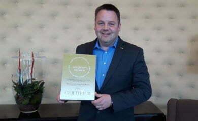 Olof Karlsson z nagrodą dla Radisson Blu Centrum