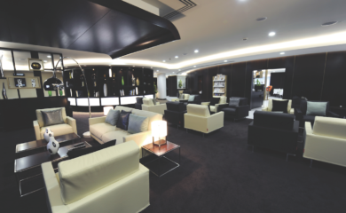 Business Lounge Etihad Airways na lotnisku Heathrow