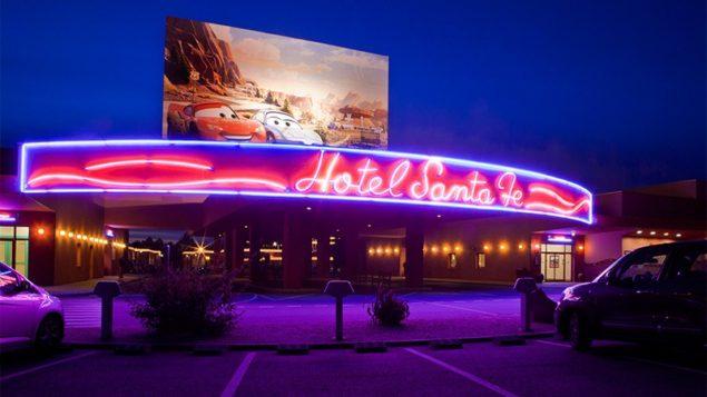Santa Fe to hotel najczęściej odwiedzany przez Polaków. Fot. Disneyland Paris
