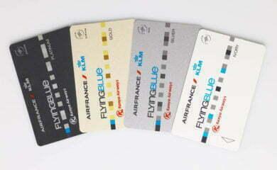 Karty lojalnościowe Flying Blue