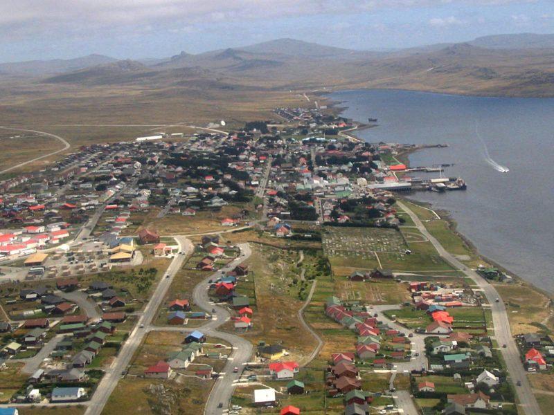 Port Stanley na Falklandach. Fot WC CC-BY 3.0